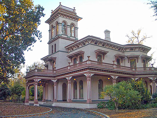 Bidwell Mansion, 525 Esplanade, Chico, CA, National Register