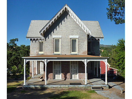 Thorn House, ca. 1857, 87 East St. Charles Street, San Andreas, CA, National Register