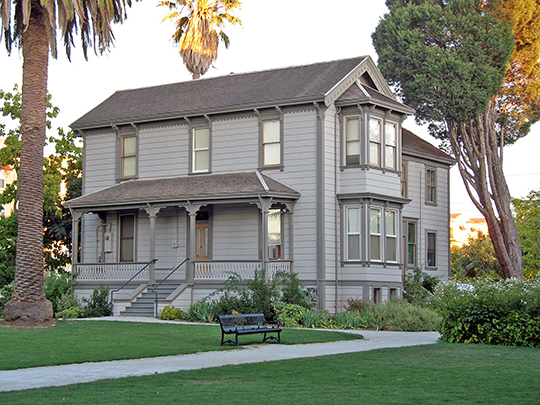 Don Francisco Galindo House, ca. 1856, 1721 Amador Avenue, Concord, CA, National Register
