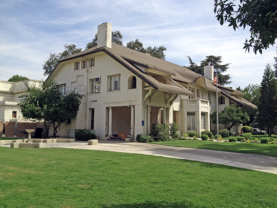 Einstein House, ca. 1912, 160 M Street, Fresno, CA, National Register