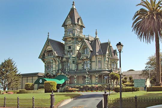 William Carson Mansion, ca. 1886, 146 M Street, Eureka, CA.
