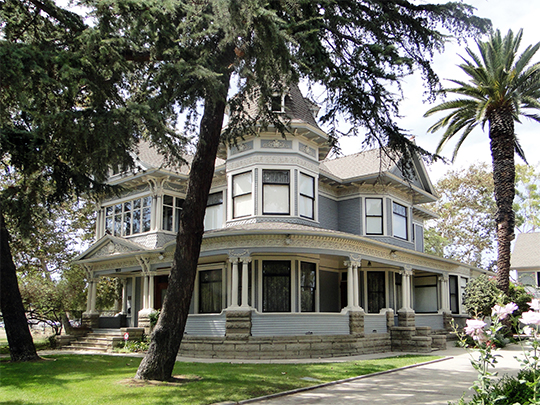 Bembridge House (Green-Rankin-Bembridge House), ca. 1906, 953 Park Circle Dr., Long Beach, CA, National Register