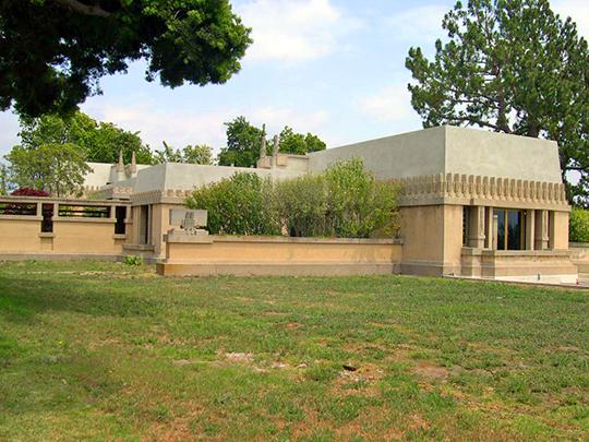 Aline Barnsdall Residence (Hollyhock House), ca. 1922, 4800 Hollywood Boulevard, Los Angeles, CA, National Register