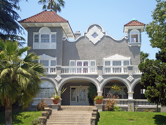 Pomeroy Wells Powers House, ca. 1903, 345 Alvarado Terrace (Alvarado Terrace Historic District), Los Angeles, CA, National Register