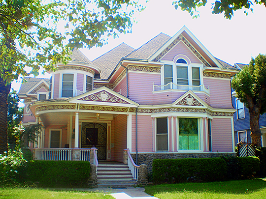 House at 1120 West 27th Street, ca. 1894, North University Park Historic District, Los Angeles, CA, National Register