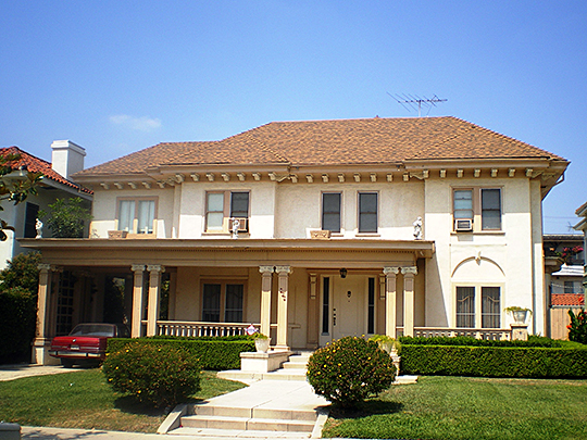 House at 409 South Serrano Avenue, ca. 1916, South Serrano Avenue Historic District, Los Angeles, CA, National Register
