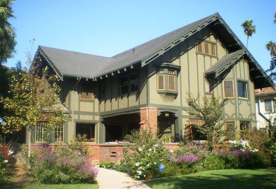 Holmes-Shannon House, ca. 1911, 4311 Victoria Park Drive, Los Angeles, CA, National Register