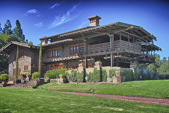 Gamble House (David Berry Gamble House), ca. 1908, 4 Westmoreland Place, Pasadena, CA, National Register
