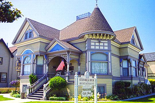 John Steinbeck House, ca. 1897, 132 Central Avenue, Salinas, CA, National Register