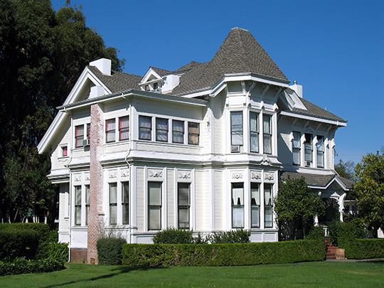 Eliza G. Yount House, ca. 1884, 423 Seminary Street, Napa, CA, National Register