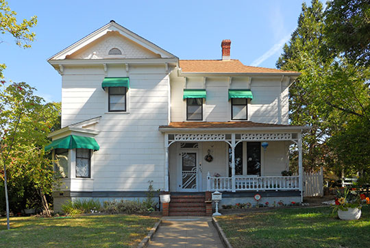 Irene Burns House, ca. 1895, 405 Linden Avenue, Auburn, CA, National Register
