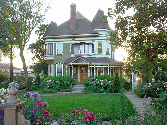 19th-century, Queen Anne style, mansion, Riverside, CA