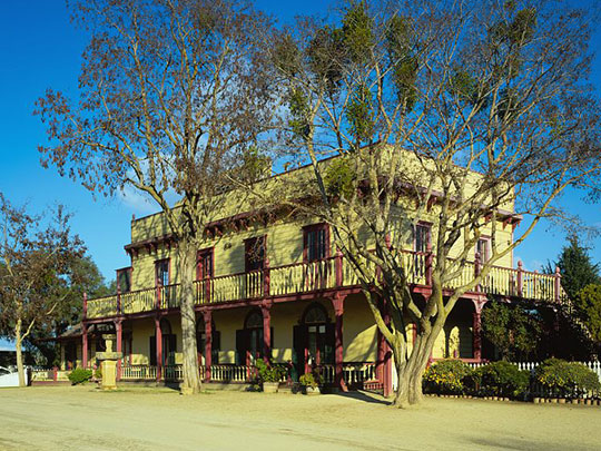Zanetta House, ca. 1868, San Juan Bautista State Historical Park, San Benito County, CA