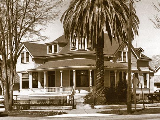 Monterey Street, Porter House, Monteret Street Historic District, Hollister, CA, National Register