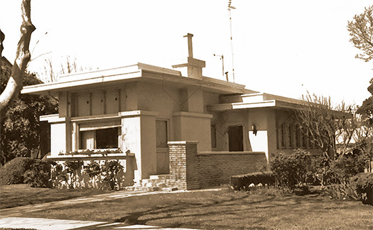 Home at 472 South Street, ca. 1922, Monterey Street Historic District, Hollister, CA, National Register