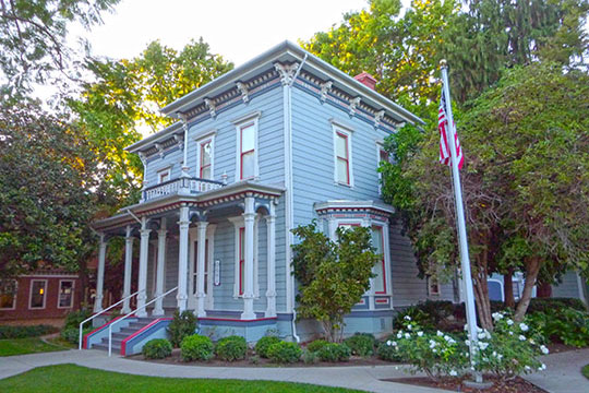 Robert Jack House, ca. 1882, 536 Marsh Street, San Luis Obispo, CA, National Register