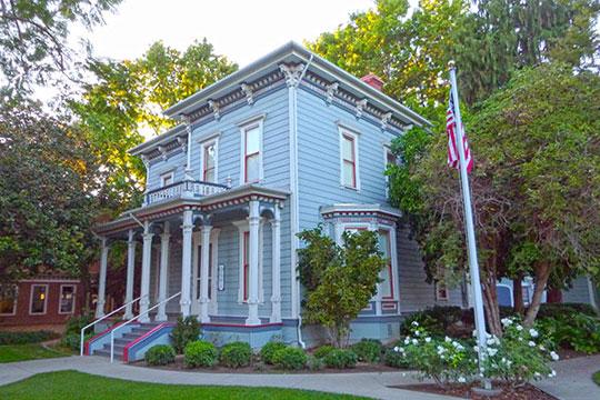 Robert Jack House, ca. 1882, 536 Marsh Street, San Luis Obispo, CA, National Register