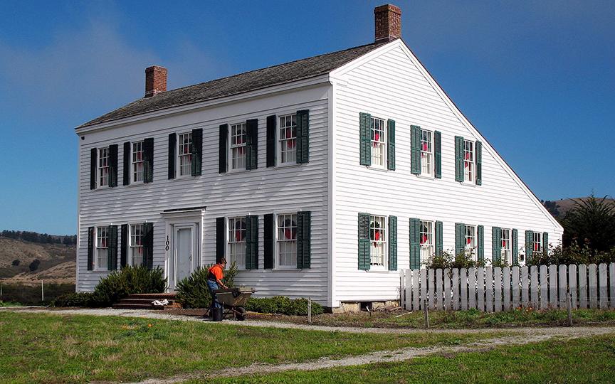 James Johnston House, ca. 1854, Higgins-Purisima Rd., Half Moon Bay, CA, National Register