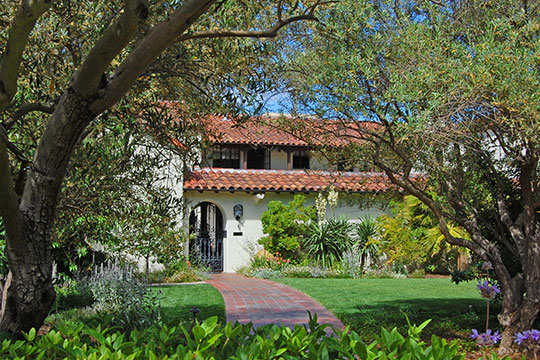 Norris House, ca. 1928, 1247 Cowper Street, Palo Alto, CA, National Register
