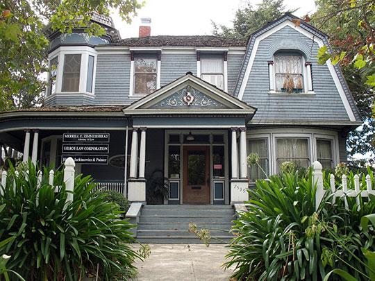 Edgar Holloway House, ca. 1903, 7539 Eigleberry Street, Gilroy, CA, National Register