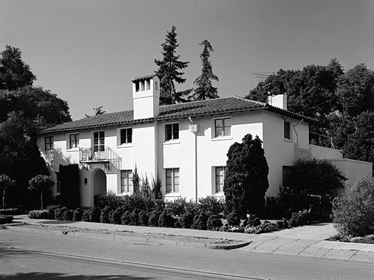 John G. Kennedy House, 423 Chaucer Street, Palo Alto, CA