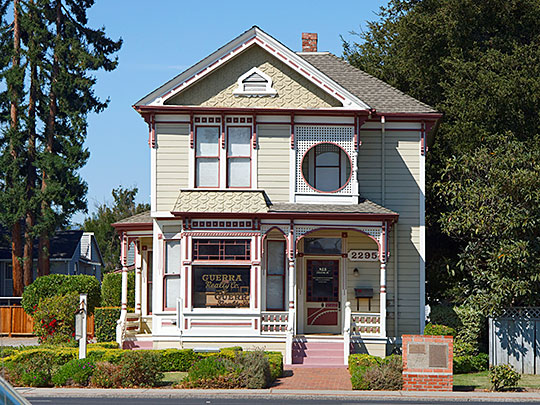 Captain James A. Hamilton House, ca. 1882, 2295 S. Bascom Avenue, San Jose, CA, National Register