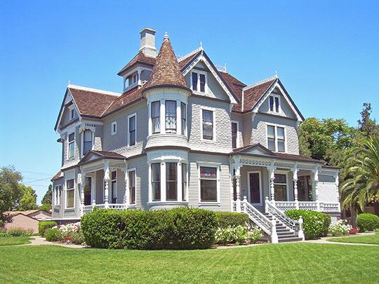 Charles Copeland Morse House, ca. 1892, 981 Fremont Street, Santa Clara, CA, National Register