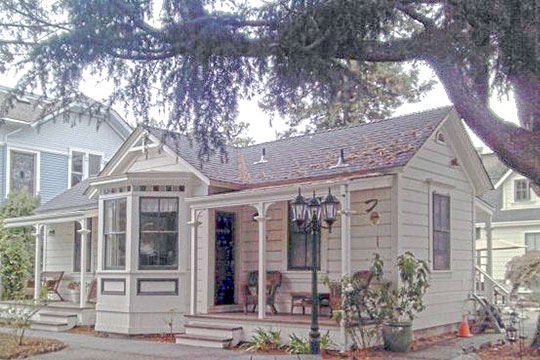 Carmelita Cottages, ca. 1872, 315-321 Main Street, Santa Cruz, CA, National Register