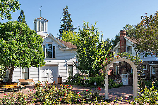 luther burbank, house, gardens, santa rosa, california, national historic landmark, 1889