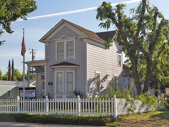 Daniel Whitmore House, ca. 1870, 2928 Fifth Street, Ceres, CA, National Register