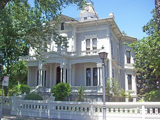McHenry Mansion, ca. 1883, 906 15th Street, Modesto, CA, National Register
