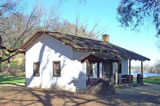 William B. Ide Adobe ca. 1852, William B. Ide Adobe State Historic Park, Red Bluff, CA
