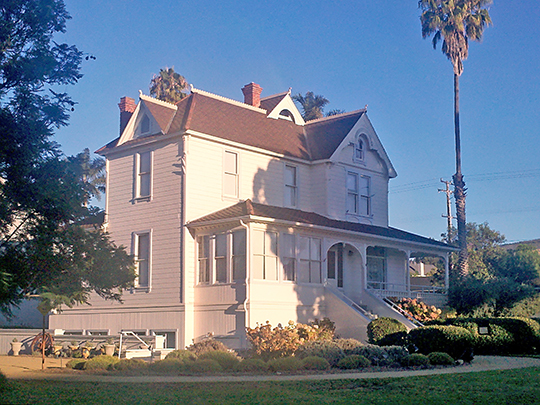 Dudley House, ca. 1891, 4085 Telegraph Road, Ventura, CA, National Register