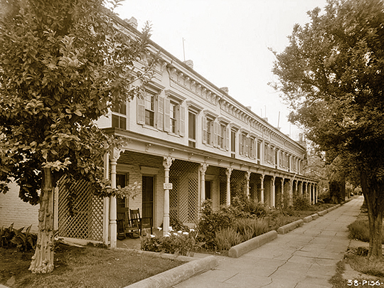 Row Homes at C Street and 6th Avenue, Marysville, Yuba County, CA