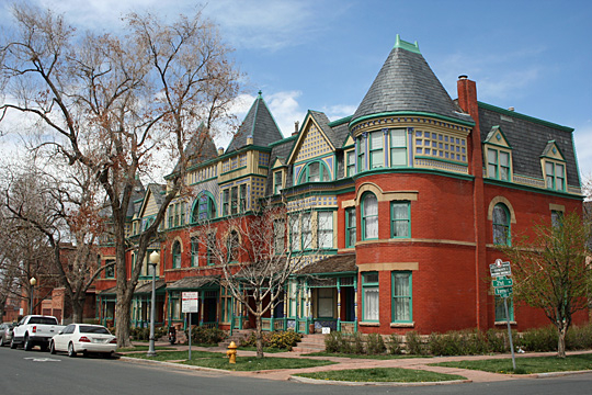 Row Homes, Enterprise Hill Historic District, Denver, CO