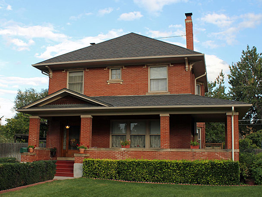 William Smith House, ca. 1910, 412 Oswego Court, Aurora, CO, National Register