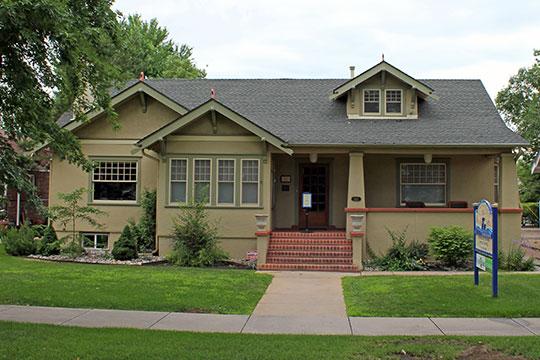 The Knight-Wood House, ca. 1940, 1860 West Littleton Boulevard, Littleton, CO, National Register.