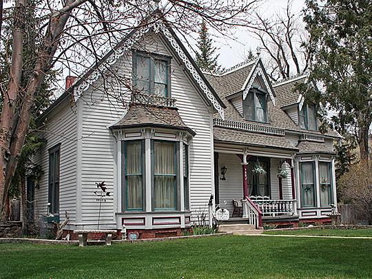 Josiah Morris Bonney House, ca. 1883, 408 Princeton Avenue, Buena Vista, Colorado.