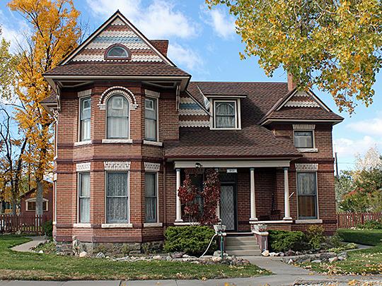 Alexander House, ca. 1901, 846 F Street, Salida, Colorado, National Register