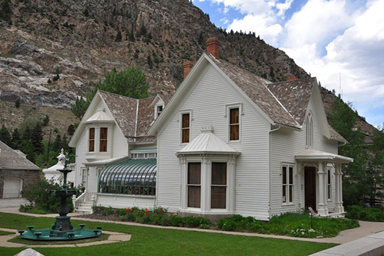Hammil House, ca. 1879, Argentine and 3rd Streets, Georgetown, CO, National Register