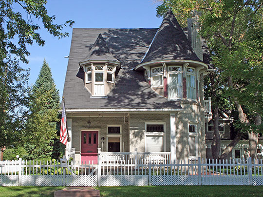 McNulty House, ca. 1892, 1390 Stuart Street in Denver, Colorado, National Register