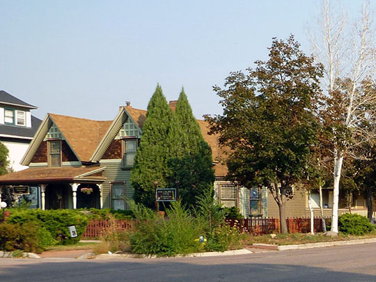 Historic District, Colorado Springs, CO, North Weber, Wahsatch Avenue, National Register