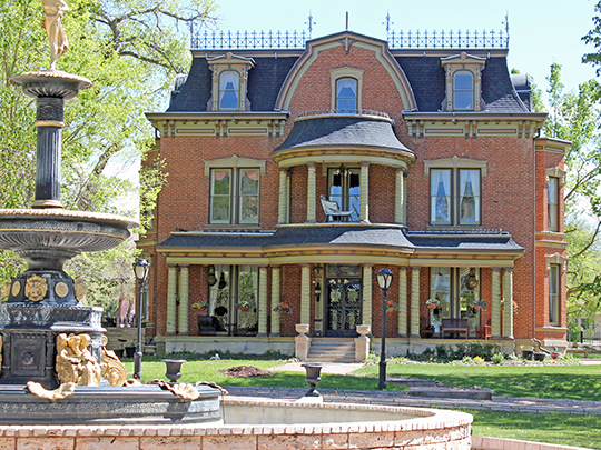 Robinson Mansion, ca. 1886, 12 Riverside Drive, Canyon City, CO, National Register