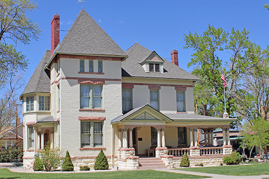 Samuel H. Atwater House, ca. 1891, 821 Macon Avenue, Canon City, CO, National Register