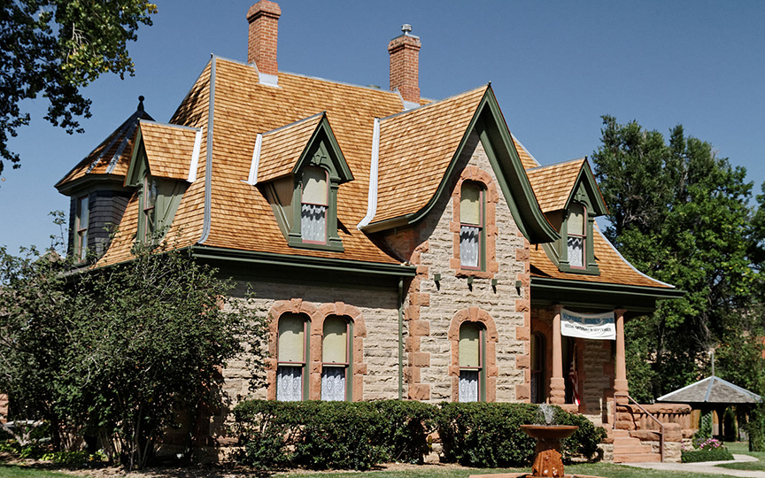 Avery House, ca. 1879, 328 West Mountain Avenue, Fort Collins, CO, National Register