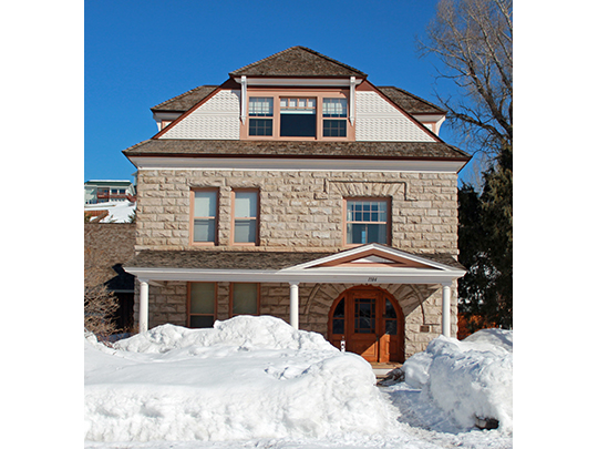 Crawford House, ca. 1894, 1184 Crawford Avenue, Steamboat Springs, CO, National Register