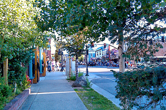 Main Street, Breckenridge Historic District, Breckenridge, CO.
