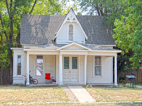 Joseph A. Woodbury House, ca. 1872, 1124 7th Street, Greeley, CO, National Register