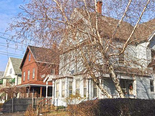 Homes on Howard Avenue, Bassickville Historic District, Bridgeport, CT, National Register