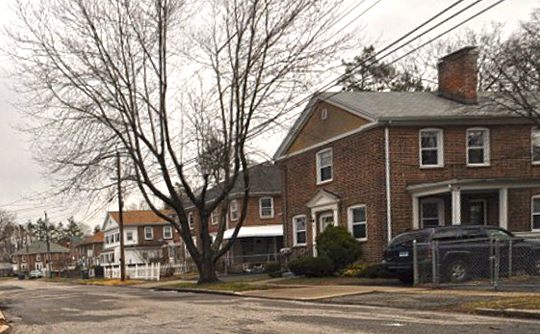 Homes in the Lakeview Village Historic District, Bridgeport, CT, National Register